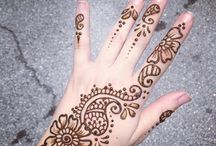 Mendhi designs / I'm loving it ❤️