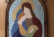 mozaic icoana fara elemente