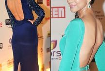 Backless Dress / Bollywood Divas wearing Backless Dress
