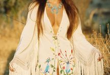 Fashion: 70s Meets Eastern European / When 70's hippie, gypsy style and Eastern European style meet what do you get? Fur, embroidery, boots, layers, lace, feathers, and more...
