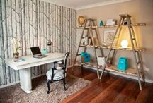 Ladder Projects / Ladder are great for any home project. Check out these ideas in order to use old ladder that we all have at home.