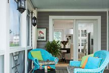 Home Decor | Porches / Making the porch a sweet haven of rest and relaxation