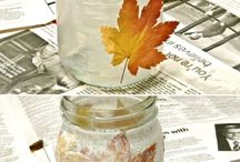 Kids crafts Autumn
