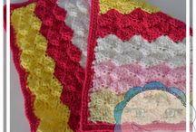 crochet afghans/blankets/cushions
