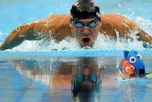 Swimming / by Jennifer Bivins