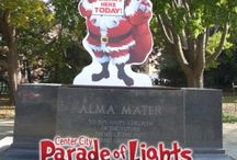 """Contest: Where's Santa? Sponsored by the Parade of Lights  / """"Where's Santa?""""  Find santa- And Win!"""