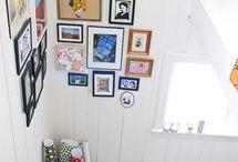 frame arrangements. / by Megan Derksen