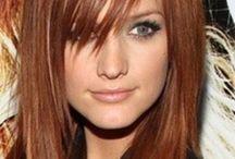 Copper/auburn/chocolate hair colours