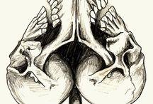 arte, dibujo y muerte