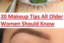 Make up for Older Women / Older woman have different needs for make-up.