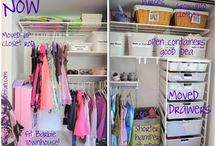 Organize Closets / by Laura Bunker