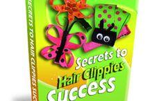 Hair Bow's. Hair clip's And Headbands / Dress up that hair.