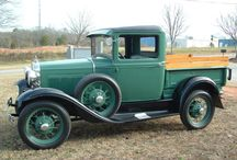 Cars and pick ups up to 1930
