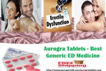 Aurogra Tablets / Aurogra tablets are generic ED medicines with 100mg sildenafil citrate, prescribed to those males who suffer erection problem during intercourse
