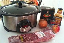 Crock Pot fixins' / by Anna Hooten