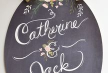 Rad Chalkboards / by Ashleigh {bee in our bonnet}