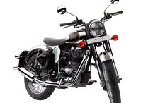 Royal Enfied Classic CHROME / The power of classic 500 with the quintessential classic British styling of the 1950s.