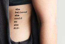tatoo's