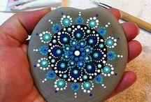 mandala painting art