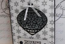 Stampin' Up! ~ Embellished Ornaments