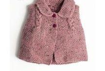 Priya's knitted vest