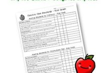 Checklists for Report Cards / by DeAnn Blackard