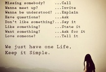 Wise words / Saying it like it is