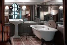 Bathrooms & Powder Rooms & Dressing Areas / by Ampersand Design