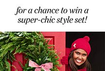 Holiday Talbots - Fun & Whimsy / I like fun and whimsy but also like preppy modern.