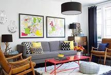 Decoration interieur colorée