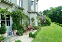 GARDEN...outdoor ROOMS / porches, pergolas, decks, patios, courtyards, gazebos, etc