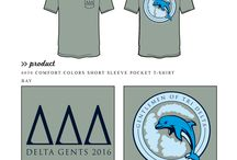 Delta Delta Delta / Delta Delta Delta custom shirt designs #deltadeltadelta #tridelta #tridelt #ddd  For more information on screen printing or to get a proof for your next shirt order, visit www.jcgapparel.com