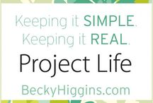 my Project Life 2012
