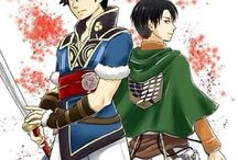 Attack on Titan / Shingeki no Kyojin x Fire Emblem Awakening