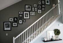 Foto muur ideeën!