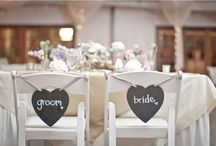 Wedding decorations / For the ceremony + reception
