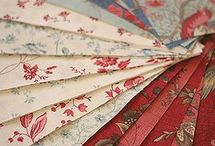 Supplies ~ Fabric, Threads, Ribbon, Trim / by Anne Davies