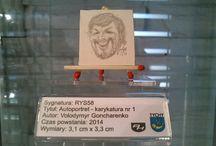 RYSUNEK Україна - Ukraina / Dział Malarstwa, Rysunku i Grafiki - Muzeum Miniaturowej Sztuki Profesjonalnej Henryk Jan Dominiak w Tychach