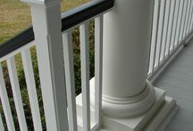 Front Porch Hand Rail Ideas
