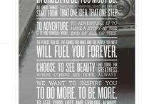 inspiration / by Shirley Wojcicki