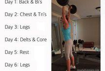 Lifting heavy/weight training
