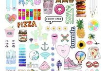 Collage❤ Hipster