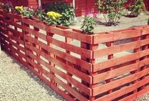 Pallet Patio / Pallets Ideas, Designs, DIY, Recycled, Upcycled Pallet Plans And Projects.