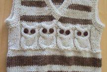 pletené detské oblečenie