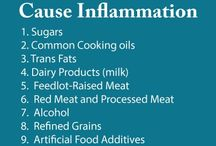 Inflammatory foods / by Shirley Hindle
