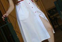 Fabulosos Vestidos Vintage / Vestido juvenil, vintage años 70 y 80 Originales y fabricados en España