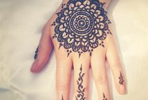 henna and mandalas