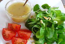 zalievky na salaty