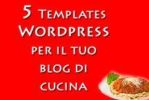 5 Template per il tuo blog di cucina / Temi wordpress wp per le ricette con blog di cucina o ristoranti, pub, agriturismo