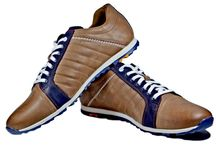 Mens Leather Sport Shoes
